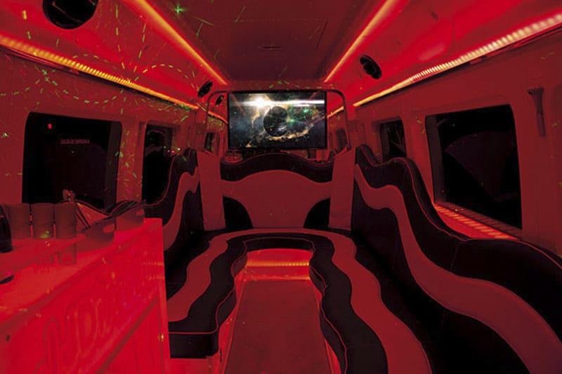 Discobus Valencia. Autobus Discoteca