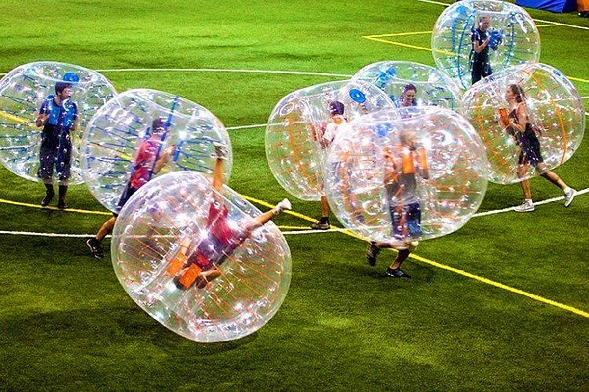 bubble soccer valencia