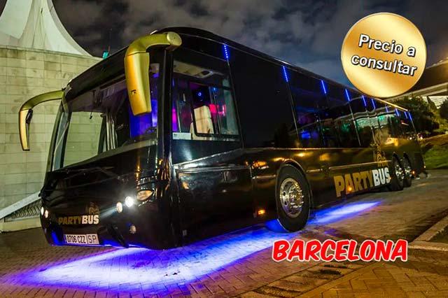 alquiler discobus barcelona