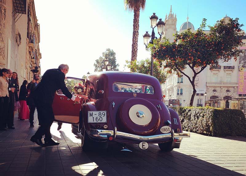 coches de boda