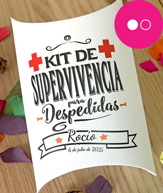 kit supervivencia despedidas